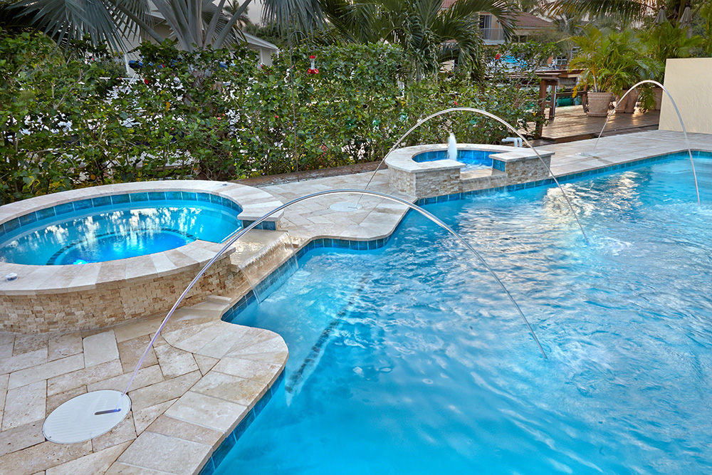 Beautiful Swimming Pool Design And Installation Apex Pavers Mesmerizing Swimming Pool Area Design