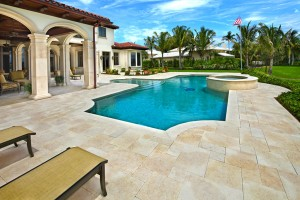 mediterranean pool design by apex pavers and pools stuart palm beach
