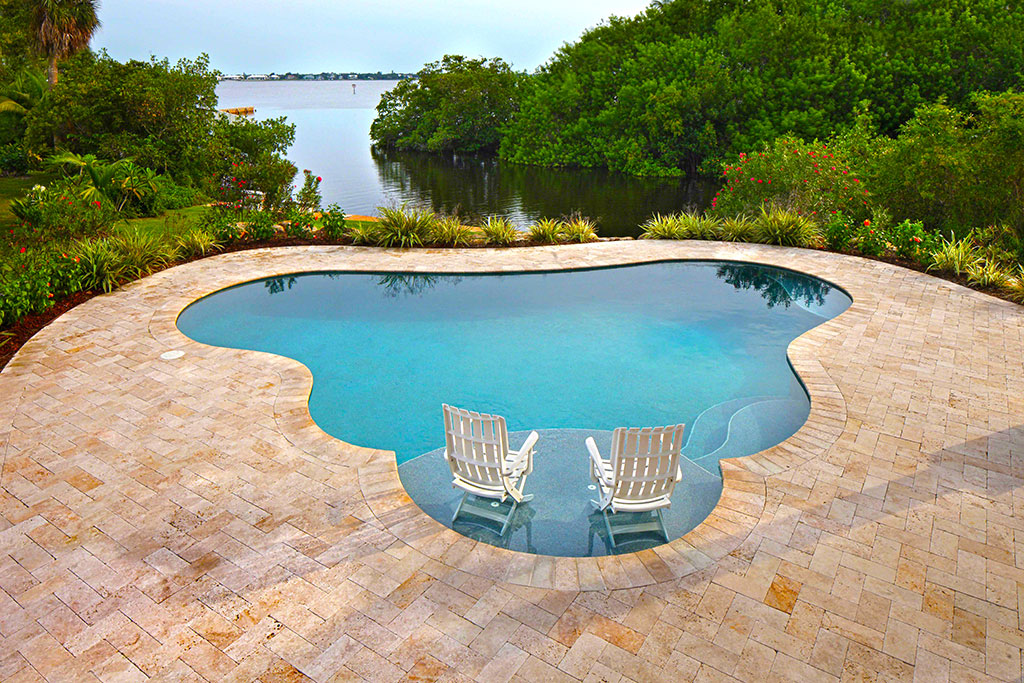 Apex pavers pools residential and commercial pools in for Florida pool and deck