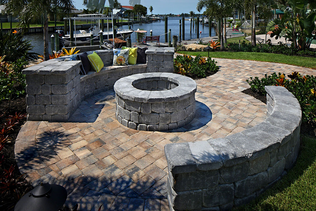Creative Outdoor Space Stuart FL APEX Pavers and Pools
