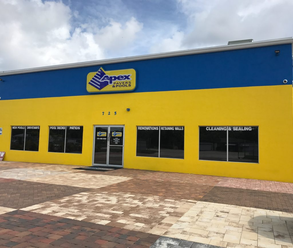 Apex Pavers and Pools New Stuart Location